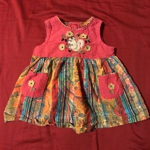 April Cornell baby girl dress